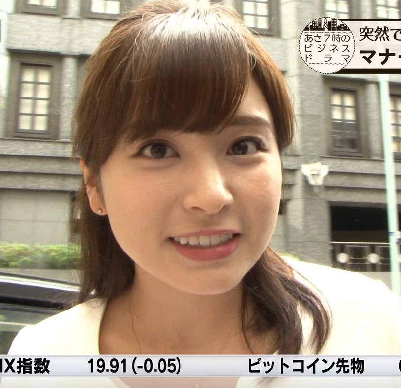 角谷暁子アナ 車から降りるときに太もも大胆露出!キャプ・エロ画像2
