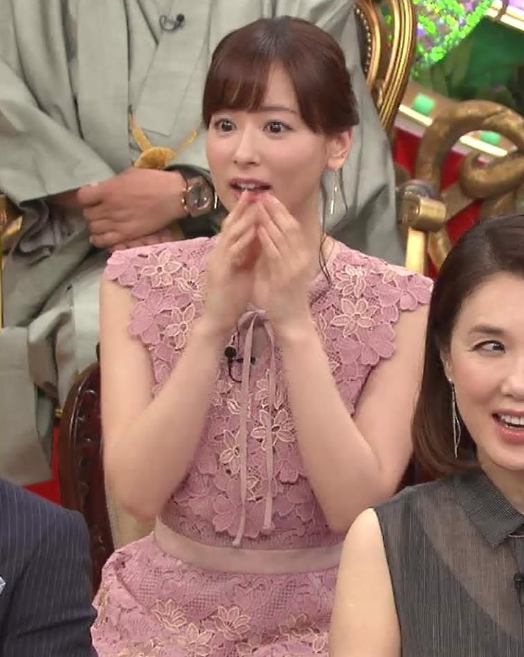 皆藤愛子 珍しくワキ全開!!キャプ・エロ画像