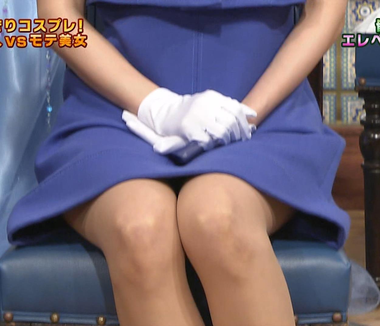 皆藤愛子 ミニスカートの中をアップで撮られるキャプ・エロ画像3