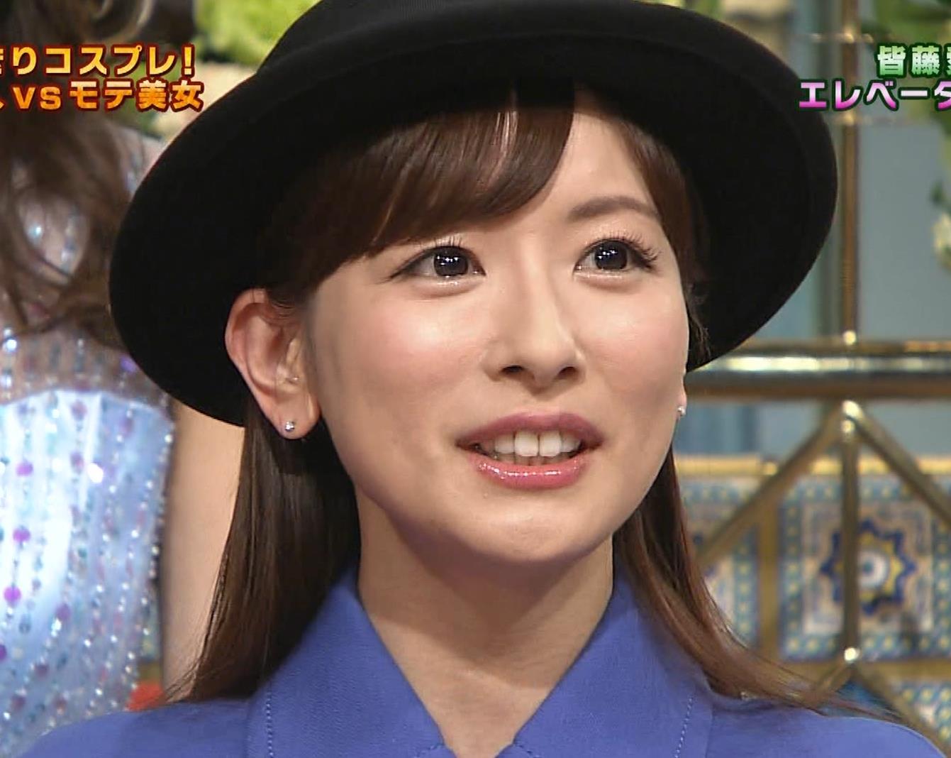 皆藤愛子 ミニスカートの中をアップで撮られるキャプ・エロ画像6