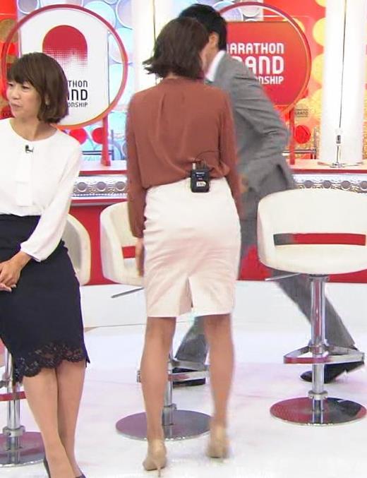 アナ ミニスカートで座って美脚露出キャプ・エロ画像6