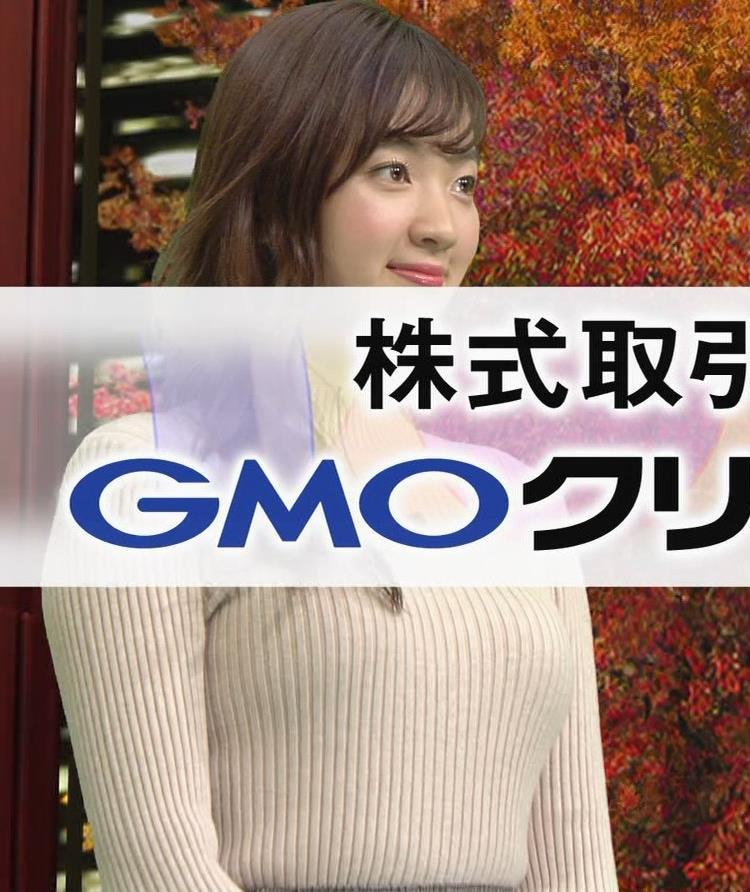 神谷由香 ニット乳がデカくてエロいぃキャプ・エロ画像4
