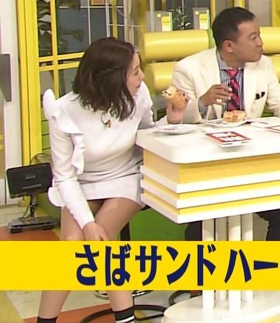 スカート短すぎて▼ゾーンが最高!キャプ・エロ画像2