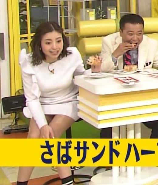 片瀬那奈 スカート短すぎてデルタゾーンが最高!キャプ画像(エロ・アイコラ画像)