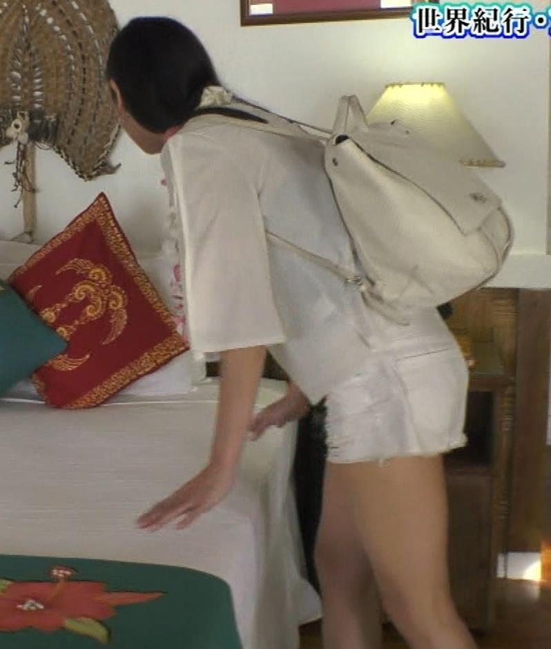 片山萌美 終始エロいBSフジの旅番組キャプ・エロ画像17
