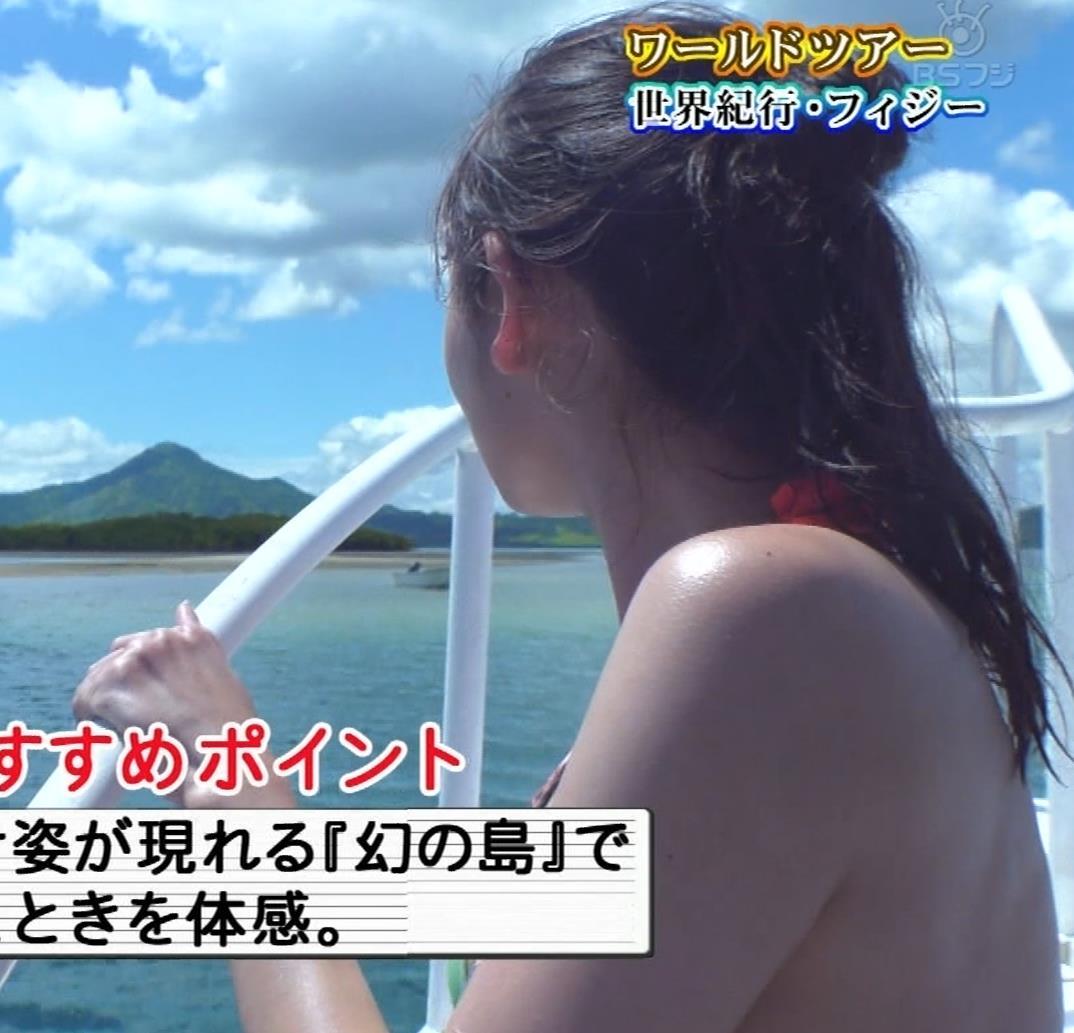 片山萌美 終始エロいBSフジの旅番組キャプ・エロ画像28