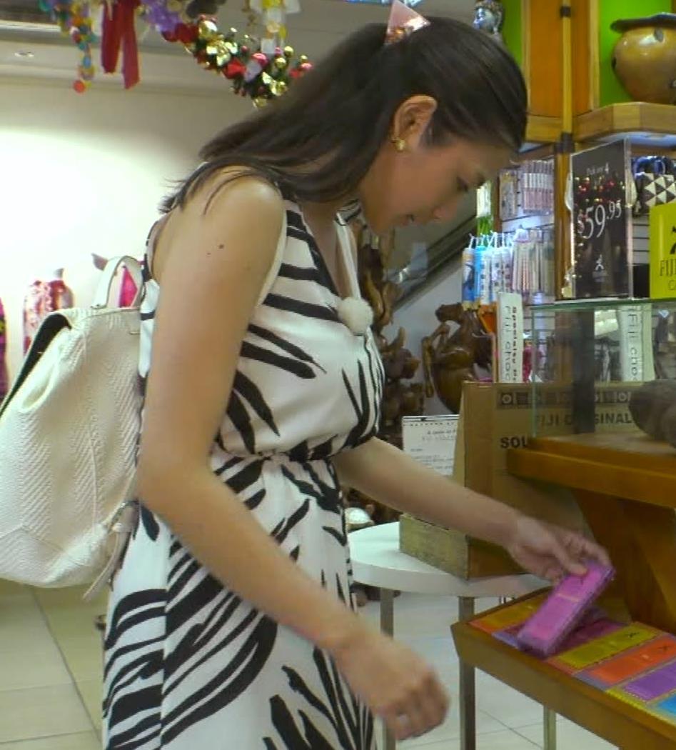 片山萌美 終始エロいBSフジの旅番組キャプ・エロ画像4