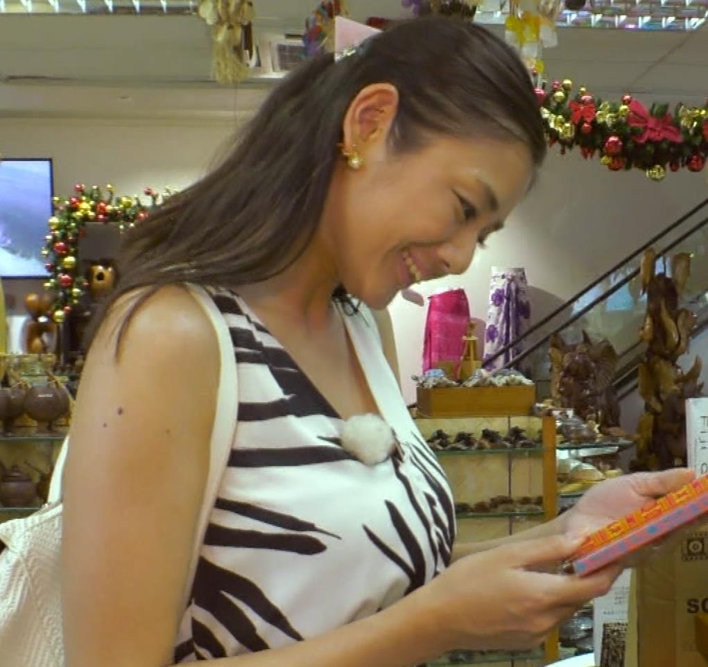 片山萌美 終始エロいBSフジの旅番組キャプ・エロ画像5