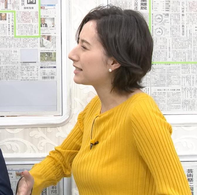 加藤シルビア TBS一番の巨乳アナキャプ・エロ画像2