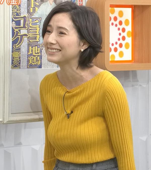 加藤シルビア TBS一番の巨乳アナキャプ・エロ画像3