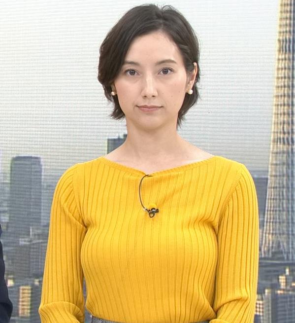 加藤シルビア TBS一番の巨乳アナキャプ・エロ画像4