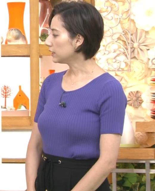 加藤シルビア 朝から過激なニット巨乳キャプ画像(エロ・アイコラ画像)