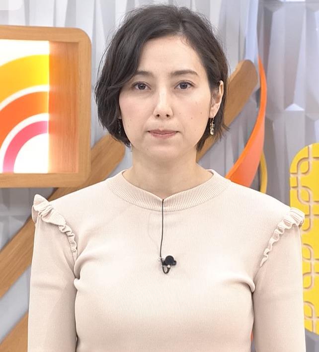 加藤シルビア ピチピチの服を着る巨乳アナキャプ・エロ画像2