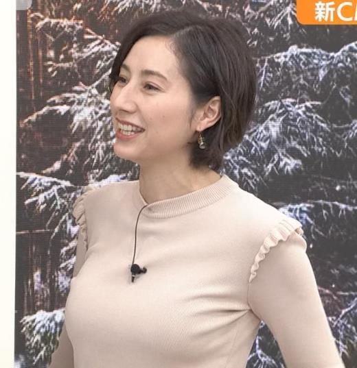加藤シルビア ピチピチの服を着る巨乳アナキャプ画像(エロ・アイコラ画像)