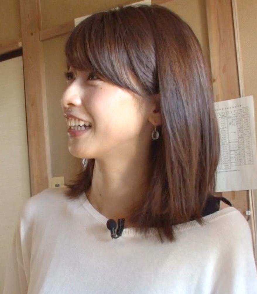 加藤綾子アナ 吹き矢で疑似フェラキャプ・エロ画像2