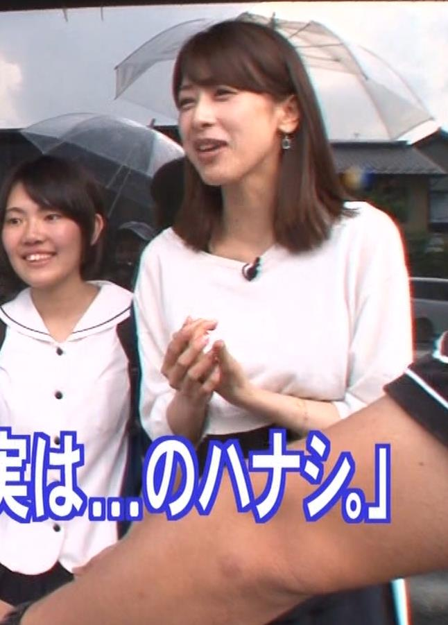 加藤綾子アナ 吹き矢で疑似フェラキャプ・エロ画像10