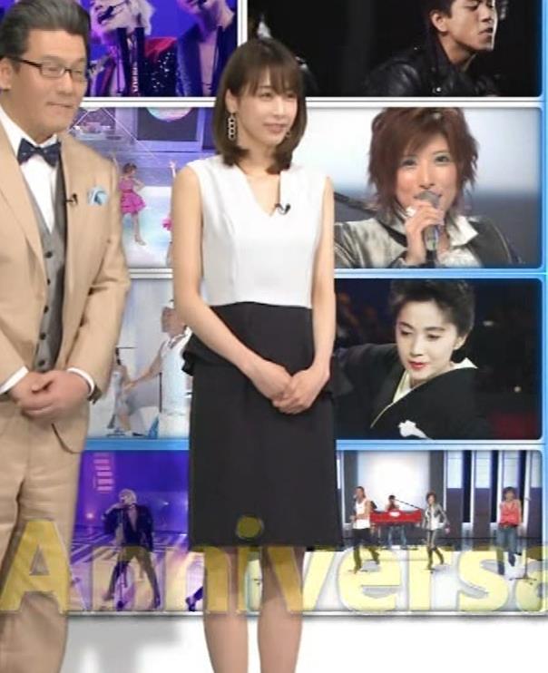 加藤綾子 衣装も表情もセクシーキャプ・エロ画像2