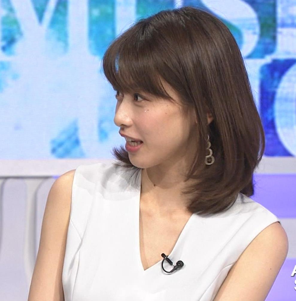 加藤綾子 衣装も表情もセクシーキャプ・エロ画像12