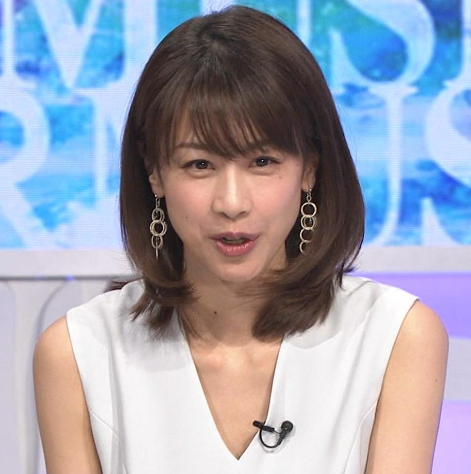 加藤綾子 衣装も表情もセクシーキャプ・エロ画像13
