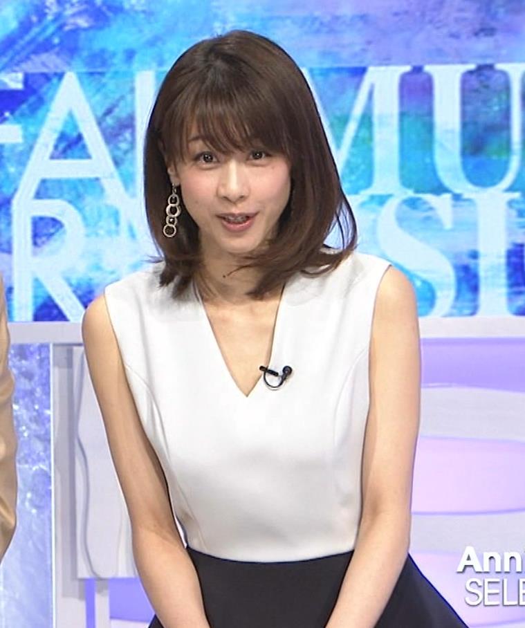 加藤綾子 衣装も表情もセクシーキャプ・エロ画像5