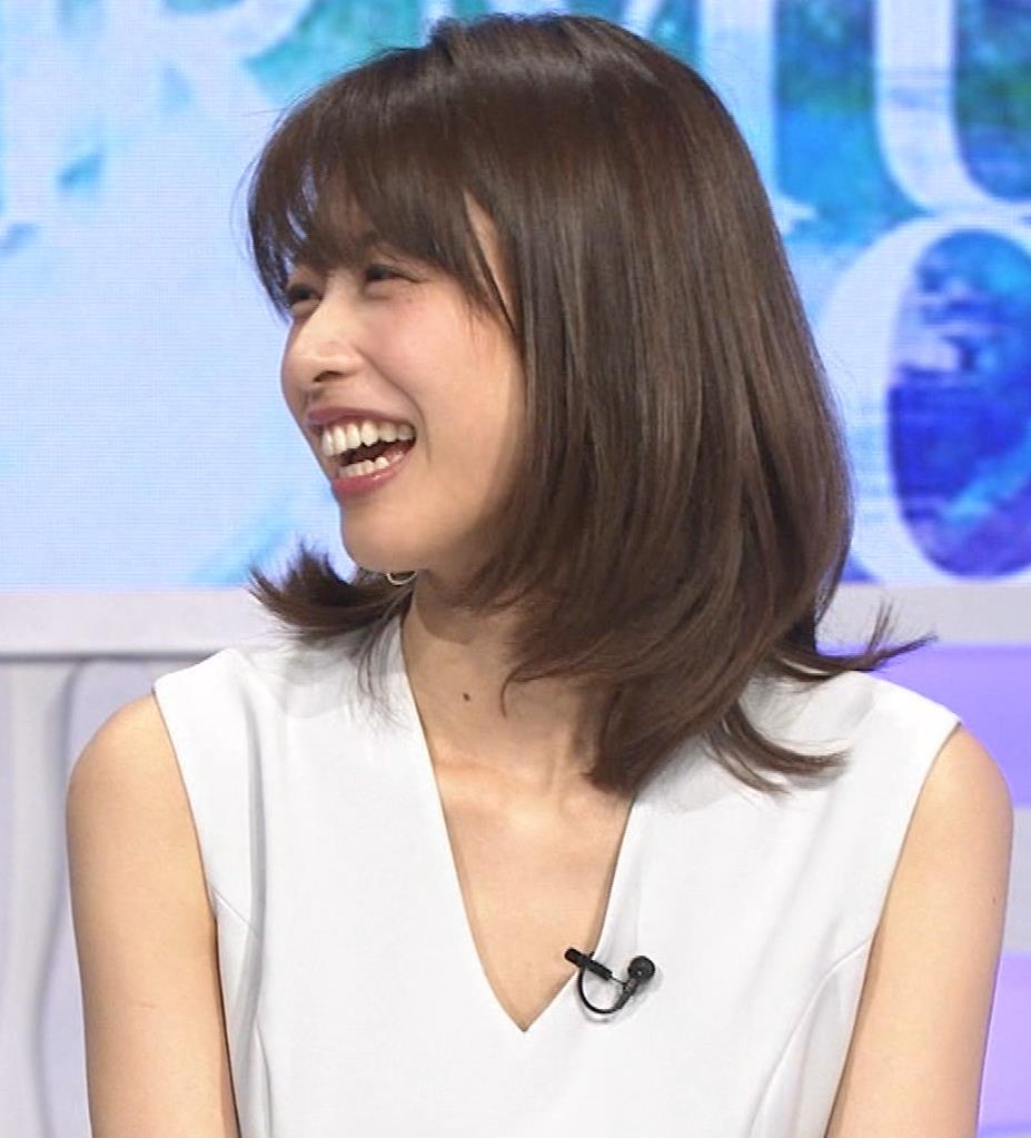 加藤綾子 衣装も表情もセクシーキャプ・エロ画像7
