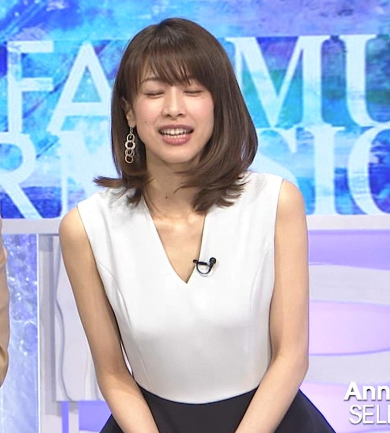 加藤綾子 衣装も表情もセクシーキャプ・エロ画像9