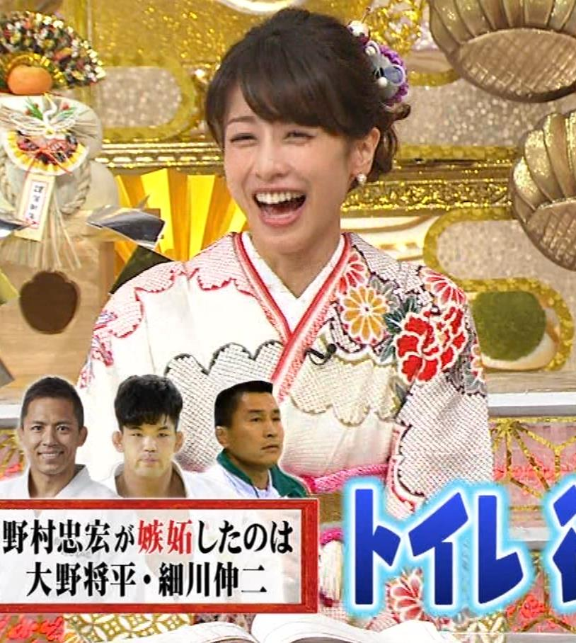 加藤綾子 振り袖姿キャプ・エロ画像4