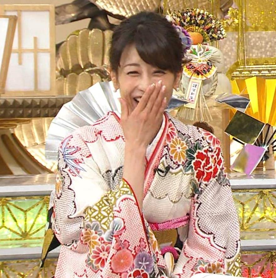 加藤綾子 振り袖姿キャプ・エロ画像9