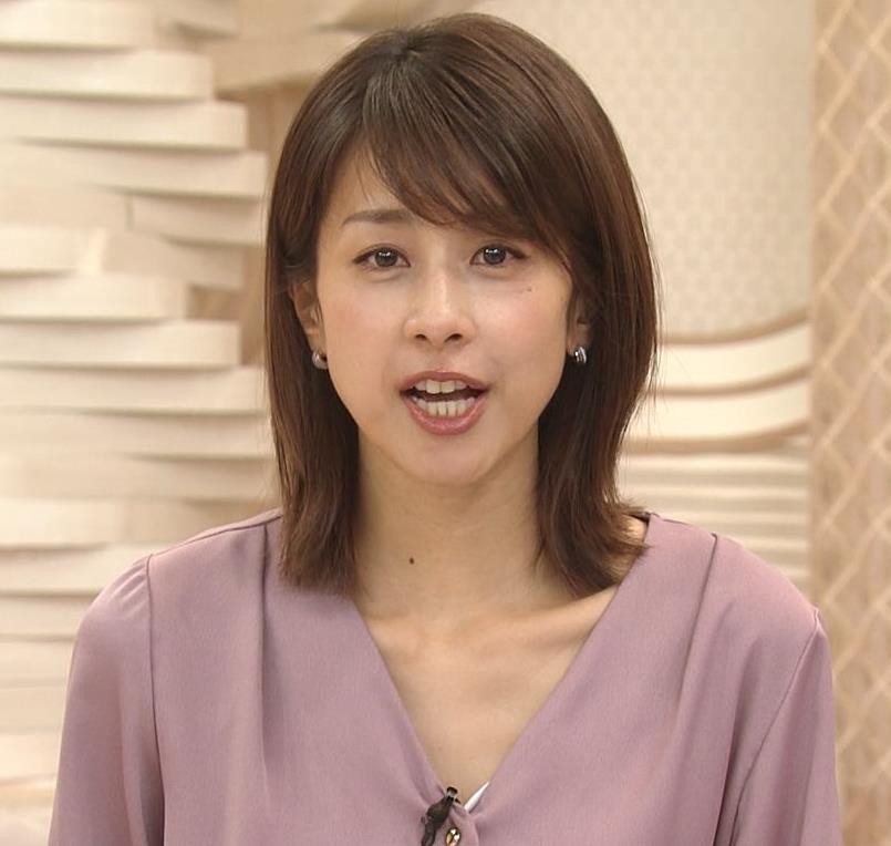 加藤綾子 胸元の服の隙間キャプ・エロ画像8
