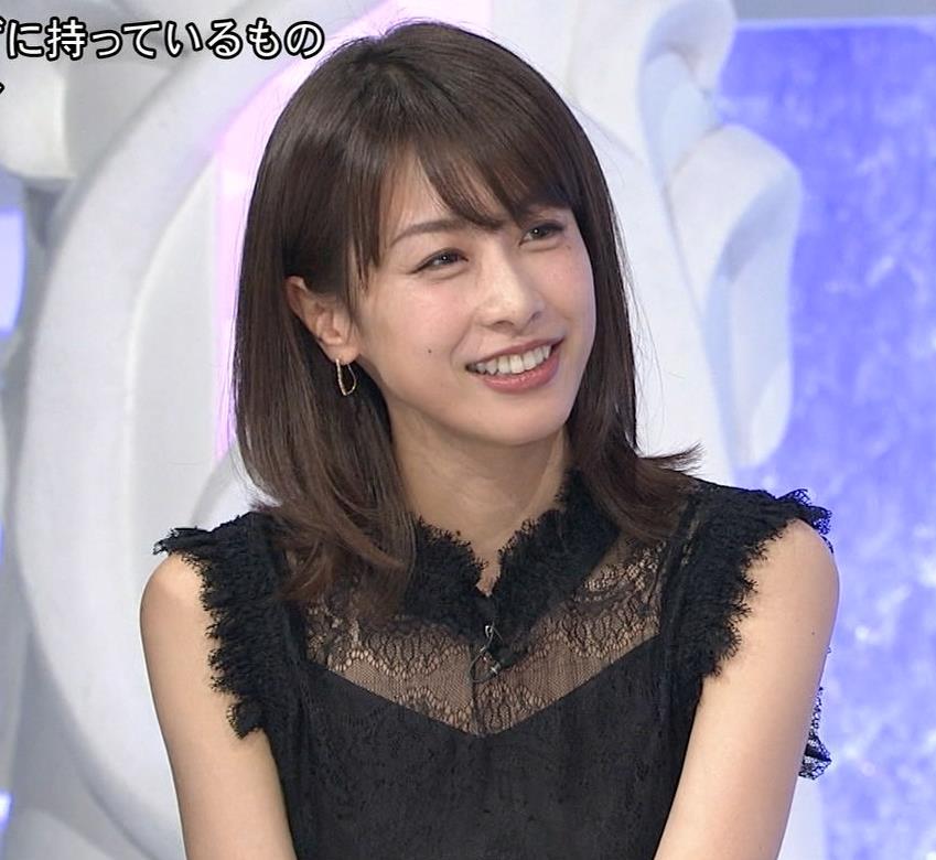 加藤綾子 いろんな表情やしぐさがまだまだかわいいキャプ・エロ画像14