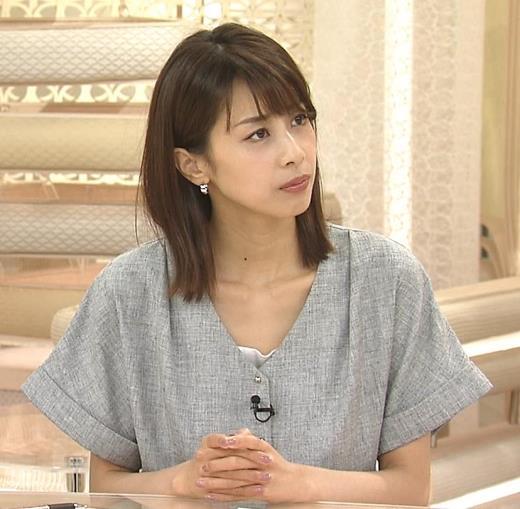 加藤綾子 エロくない服キャプ画像(エロ・アイコラ画像)