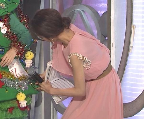 加藤綾子 片腕だけノースリーブキャプ・エロ画像5
