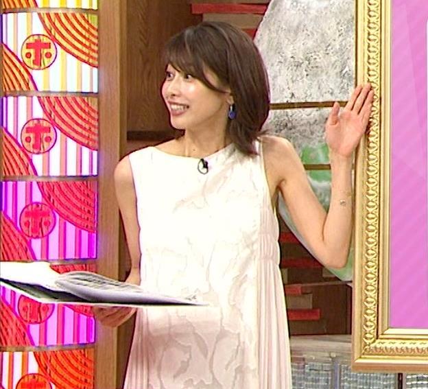 加藤綾子 ノースリーブのエロいワキキャプ・エロ画像3