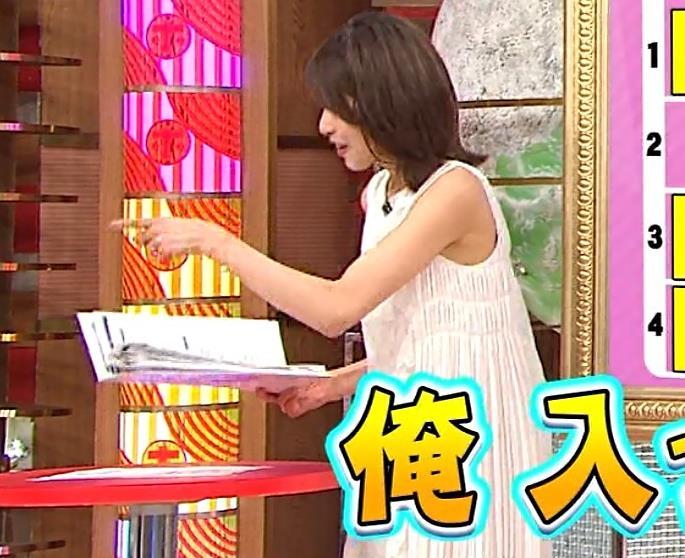 加藤綾子 ノースリーブのエロいワキキャプ・エロ画像5