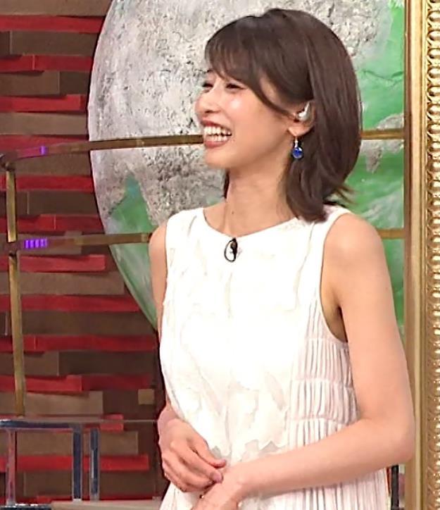 加藤綾子 ノースリーブのエロいワキキャプ・エロ画像7
