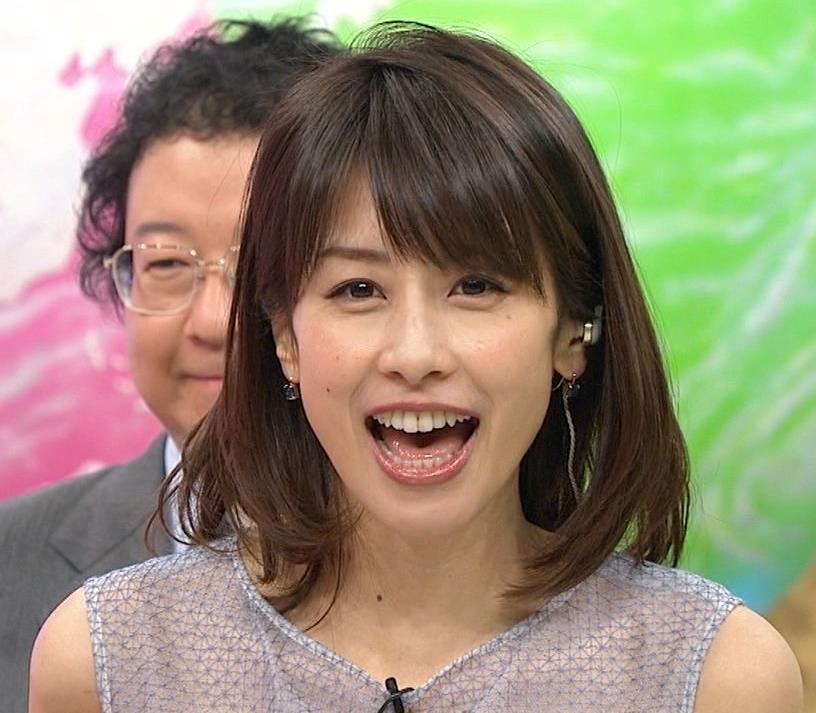 加藤綾子 一応透けてるノースリーブキャプ・エロ画像2