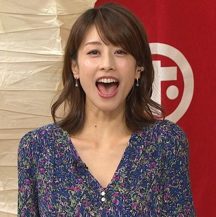 加藤綾子 気前よく胸チラ!キャプ・エロ画像3