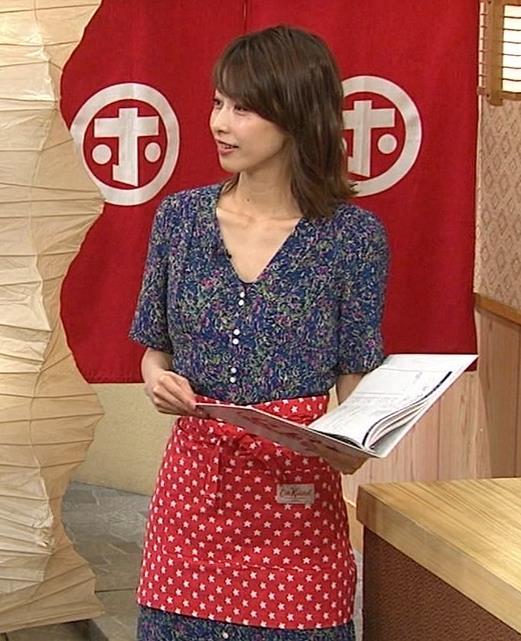 加藤綾子 気前よく胸チラ!キャプ・エロ画像5