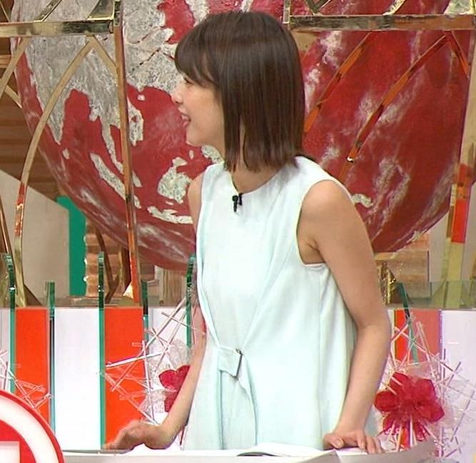 加藤綾子 ワキがエロいノースリーブキャプ・エロ画像5