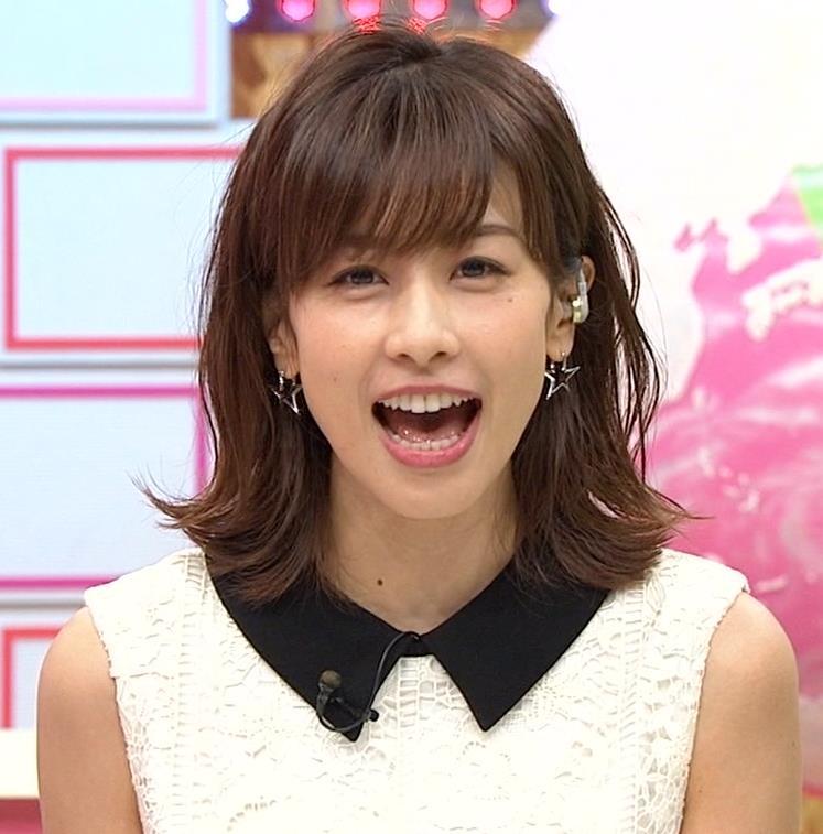 加藤綾子アナ キス顔キャプ・エロ画像