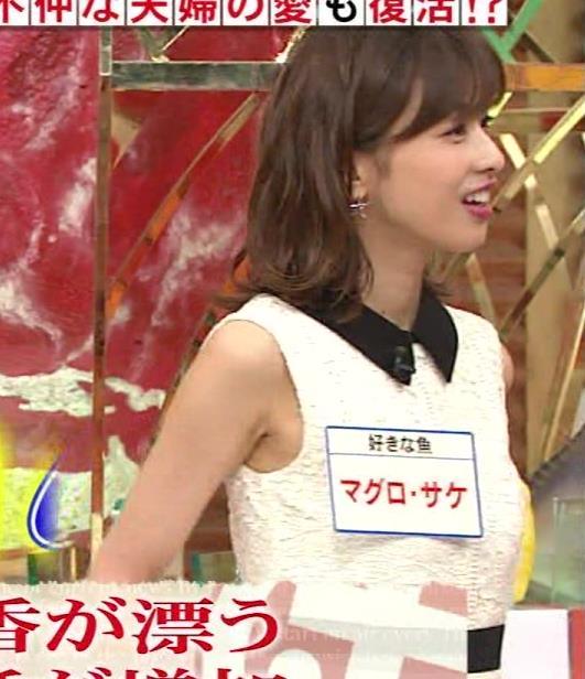 加藤綾子アナ キス顔キャプ・エロ画像9
