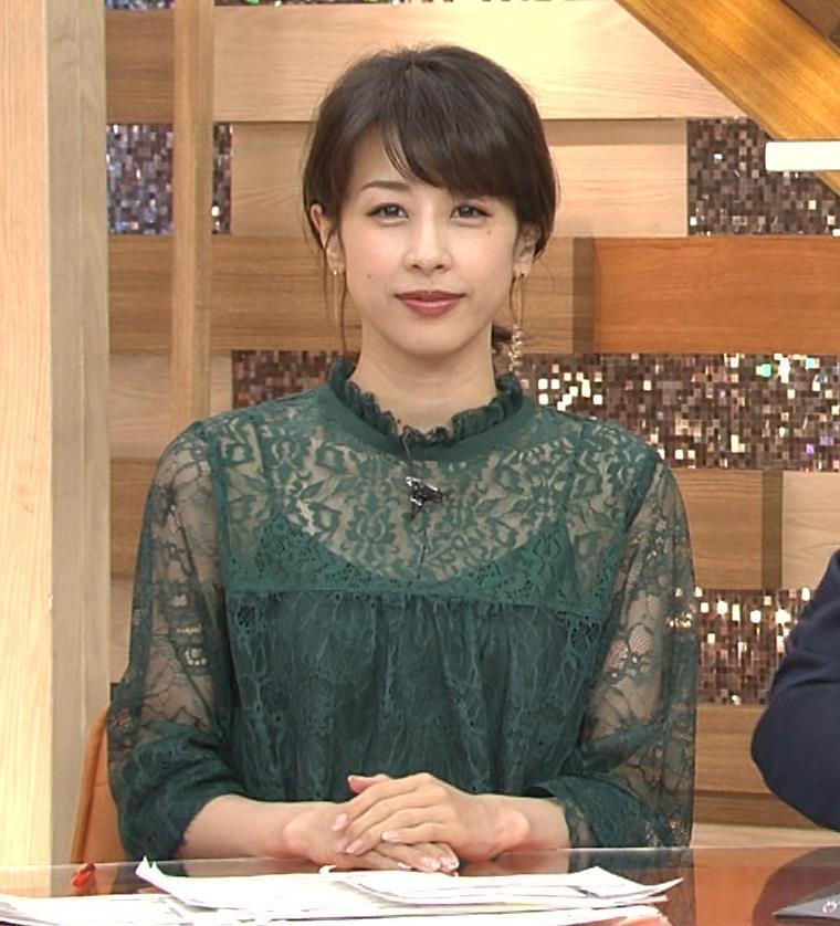 加藤綾子 スケスケ衣装でキャミソール丸見えキャプ・エロ画像