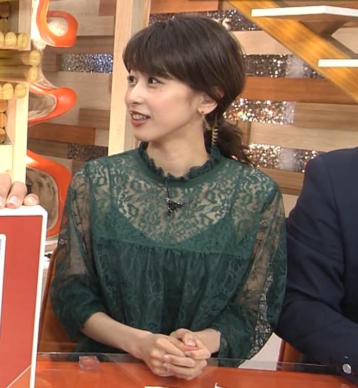 加藤綾子 スケスケ衣装でキャミソール丸見えキャプ・エロ画像12