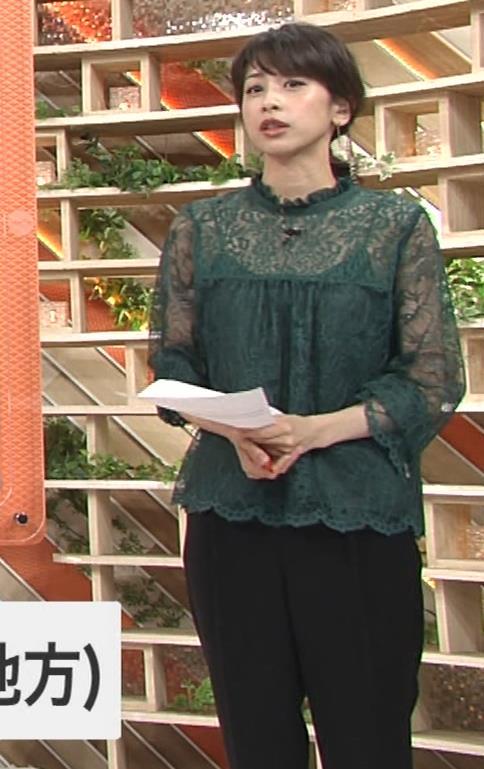 加藤綾子 スケスケ衣装でキャミソール丸見えキャプ・エロ画像14