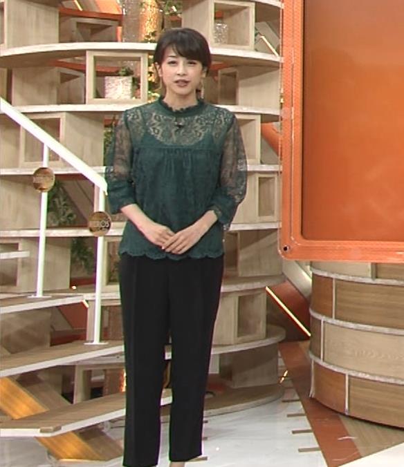 加藤綾子 スケスケ衣装でキャミソール丸見えキャプ・エロ画像10