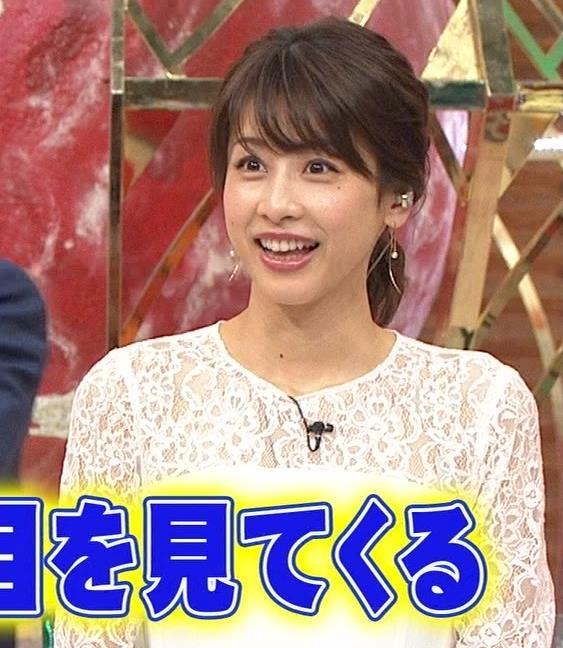 加藤綾子 ポニーテールキャプ・エロ画像2