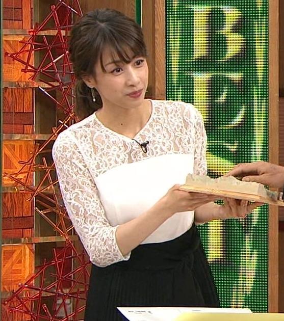 加藤綾子 ポニーテールキャプ・エロ画像3