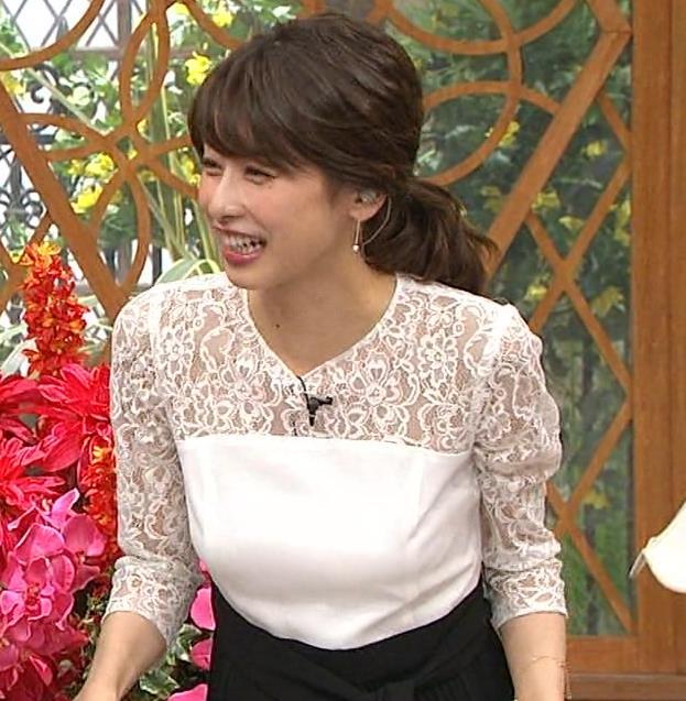 加藤綾子 ポニーテールキャプ・エロ画像8