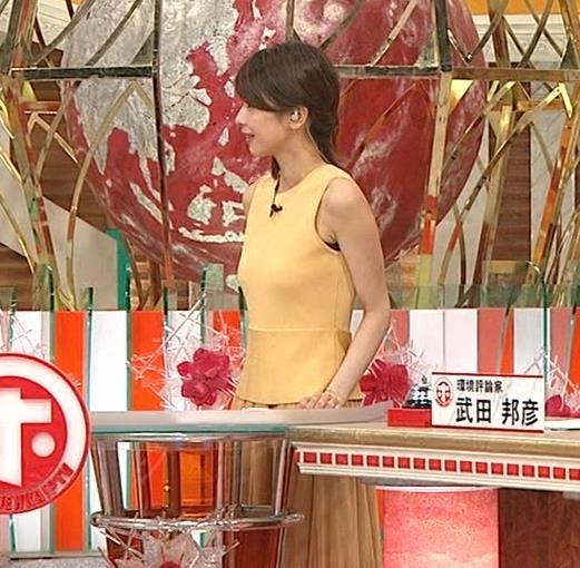 アナ 裸に見えそうな色のピチピチ衣装キャプ・エロ画像12