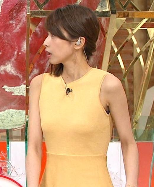 アナ 裸に見えそうな色のピチピチ衣装キャプ・エロ画像5